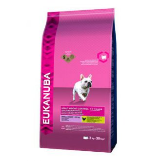 PSI - Eukanuba Dog Adult Small Weight Control 3kg