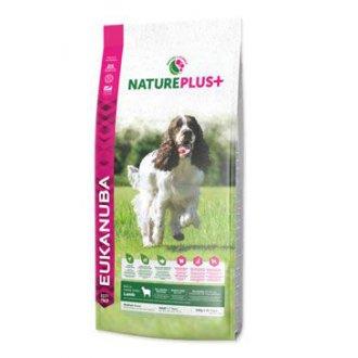 PSI - Eukanuba Dog Nature Plus+ Adult Med. froz Lamb 10kg