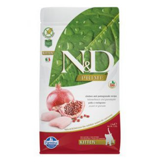 KOČKY - N&D PRIME CAT KITTEN Chicken & Pomegranate 1,5kg