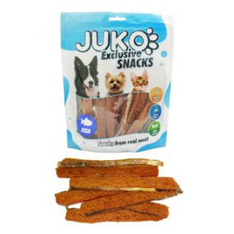 PSI - Juko excl.Smarty Snack Salmon strip with fishskin 250g