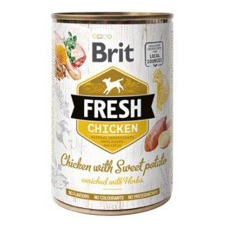 PSI - Brit Dog Fresh konz Chicken with Sweet Potato 400g