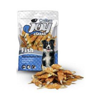 PSI - Calibra Joy Dog Classic Fish & Chicken Slice 80g NEW