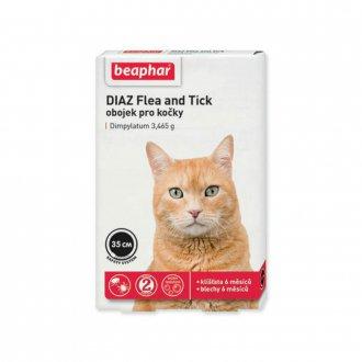 VÝPRODEJ - AKCE - Beaphar Obojek antipar. kočka SOS adult 35cm 1ks