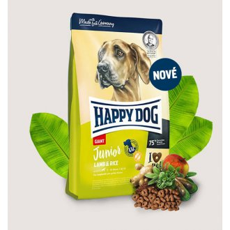 PSI - Happy Dog Junior Giant Lamb & Rice 4kg