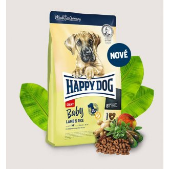 PSI - Happy Dog Baby Giant Lamb & Rice 4kg