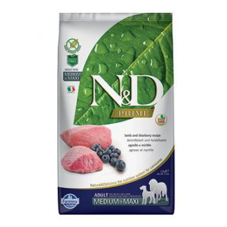 PSI - N&D PRIME DOG Adult Lamb & Blueberry 2,5kg