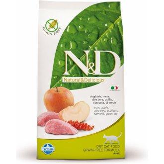 KOČKY - N&D PRIME CAT Adult Chicken & Pomegranate 300g
