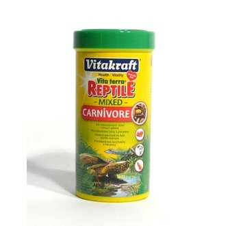 PLAZI - Vitakraft Reptile Turtle Carnivore masožr.plazi 250ml