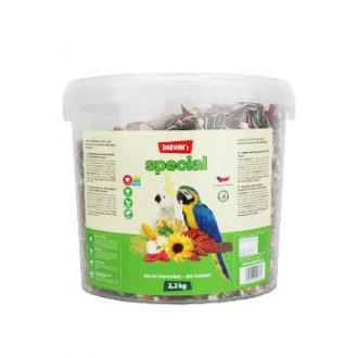 PTÁCI - Darwin´s velký papoušek special vědro 2,2kg