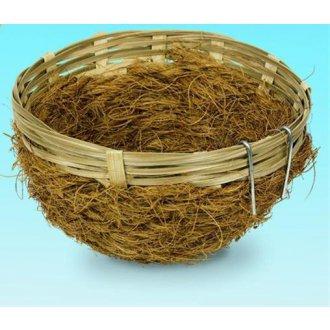 PTÁCI - Hnízdo pro ptáky proutěné Nobby 8 x 12 cm