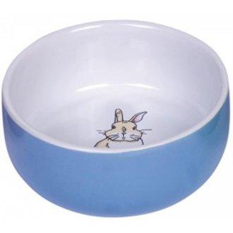IMPORT (samohyl) - Miska hlod. keramická s obrázkem modrá 250ml