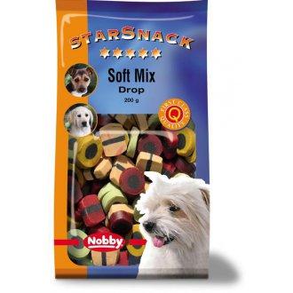 IMPORT (samohyl) - Nobby pamlsek - StarSnack Soft Mix Drop 200 g