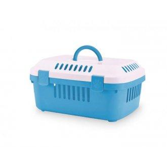 IMPORT (samohyl) - Transp. Box hlod. plast - modrý Nobby 48,5 x 33 x 23,5 cm