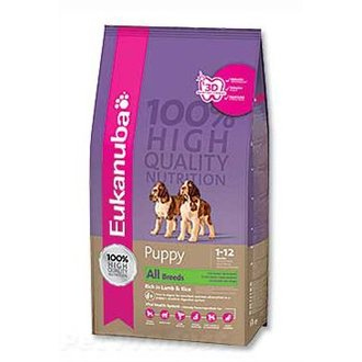 PSI - Eukanuba Dog Puppy&Junior Lamb&Rice 12kg