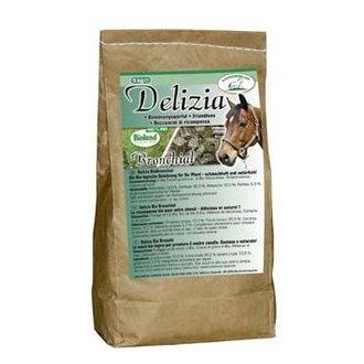KONĚ - Pochoutka pro koně DELIZIA BIO Bronchial 1kg