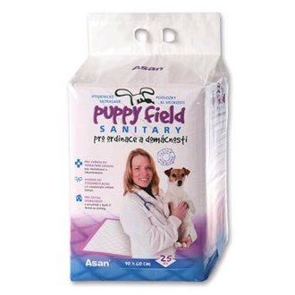 PSI - Podložka Puppy Field Sanitary 90x60cm 25ks