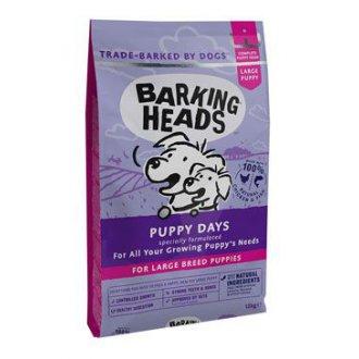 POŠKOZENÉ ZBOŽÍ - BARKING HEADS Puppy Days NEW (Large Breed)18kg - zalepený svár