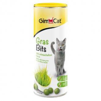 VÝPRODEJ - AKCE - Gimpet Grasbits tab. s kocici travou 425g