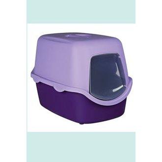 KOČKY - WC kočka kryté domek VICO 40x40x56 TR fialová