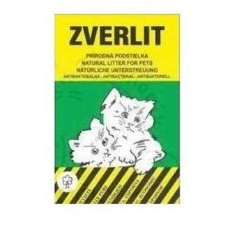 KOČKY - ZVERLIT zelený hrubá Podestýlka kočka 10kg