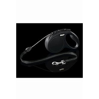 PSI - Vodítko FLEXI Classic NEW M lanko 5m/20kg černá