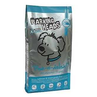 PSI - BARKING HEADS PROFESSIONAL FISH GRAIN FREE 18kg