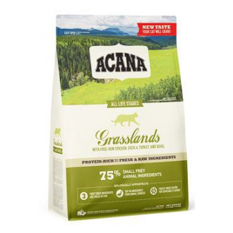 KOČKY - Acana Cat Grasslands Grain-free 340g New