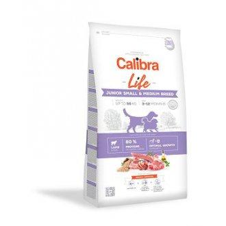 VÝPRODEJ - AKCE - Calibra Dog Life Junior Small&Medium Breed Lamb  2,5kg