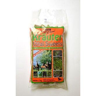 KONĚ - Pochoutka pro koně s bylinkami pro podporu trávení 1kg