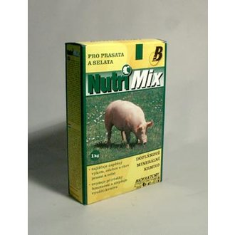 OSTATNÍ ZVÍŘATA - Nutri Mix pro prasata a selata  plv 1kg