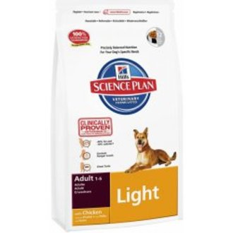 PSI - Hill´s Canine  Dry Adult Light  3kg