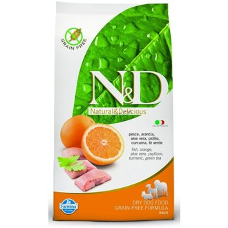 PSI - N&D Grain Free DOG Adult Mini Fish & Orange 7kg