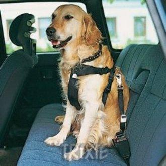 PSI - Postroj pes Bezpečnostní do auta XL Trixie
