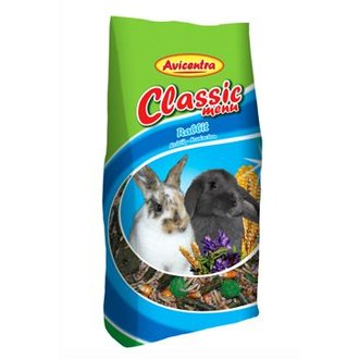 HLODAVCI - Avicentra Classic menu králík 25kg