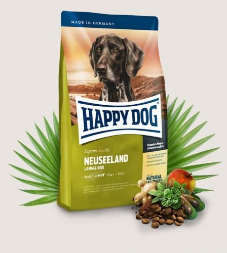 happy dog supreme sensible neuseeland 2 x 12 5 kg happy dog. Black Bedroom Furniture Sets. Home Design Ideas