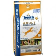Bosch Dog Adult Lamb&Rice 15kg