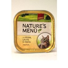 Schmusy Cat Nature Menu vanička kuře+losos 100g