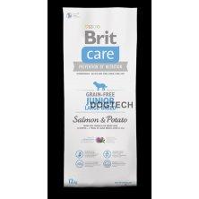 Brit Care Dog Grain-free Junior LB Salmon & Potato 1kg