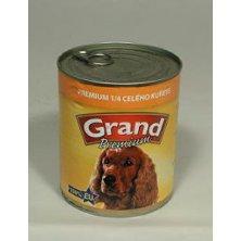 GRAND konz. pes Extra s 1/4 kuřete 850g