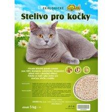 Podestýlka dřevěná měkká smrk. pro kočky LIMARA  5kg