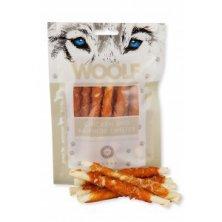 WOOLF pochoutka chicken and rawhide twister 100g