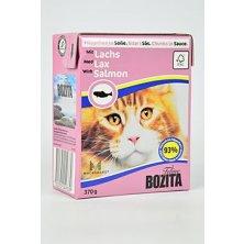 Bozita Cat kousky v omáčce s lososem Tetrapak 370g