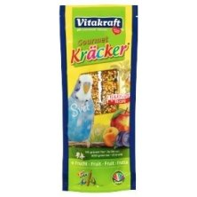 Vitakraft Bird Kräcker  Budgie Fruit tyč 2ks