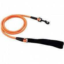 Vodítko Hurtta Lifeguard Dazzle 180cm/11mm oranžové