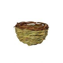 Hnízdo travní s proutěným lemem