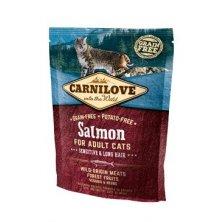 Carnilove Cat Salmon for Adult Sensitiv & LH  400g