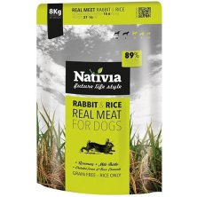 Nativia Real Meat Rabbit&Rice 8kg