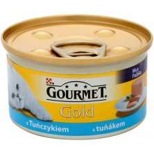 Gourmet Gold konz. kočka jemná paštika tuňák 85g