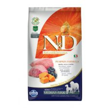 N&D GF Pumpkin DOG Adult M/L Lamb & Blueberry 2,5kg