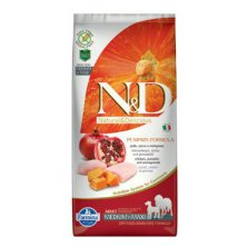 N&D GF Pumpkin DOG Adult M/L Chicken&Pomegranate 12kg
